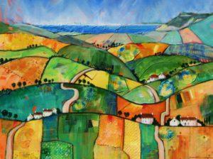 Patchwork Hills to Golden Cap