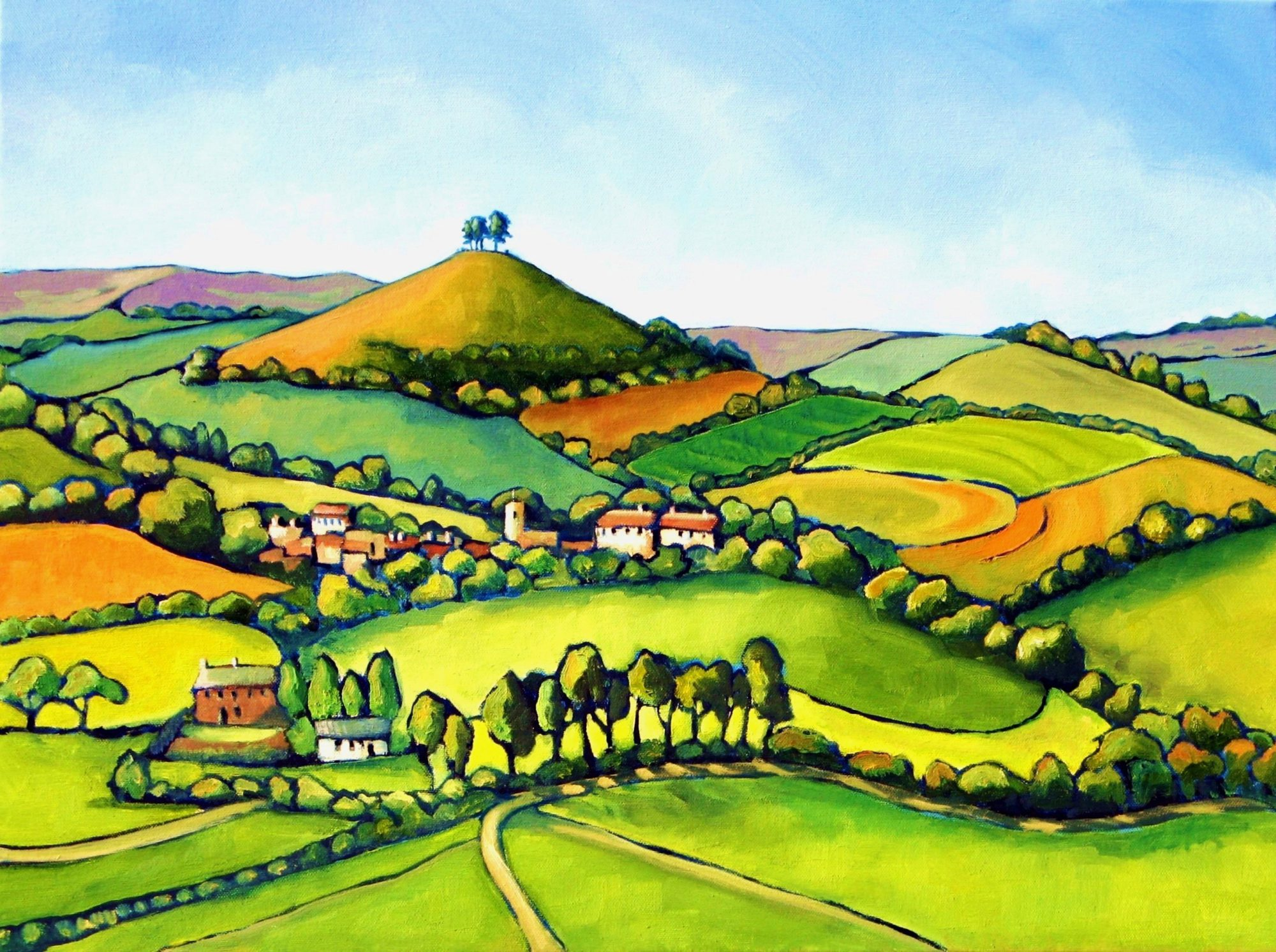 Symondsbury and Colmer's Hill