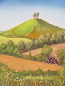 Across the Fields to Colmer's Hill