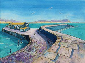 Aquamarine Cobb, Lyme Regis