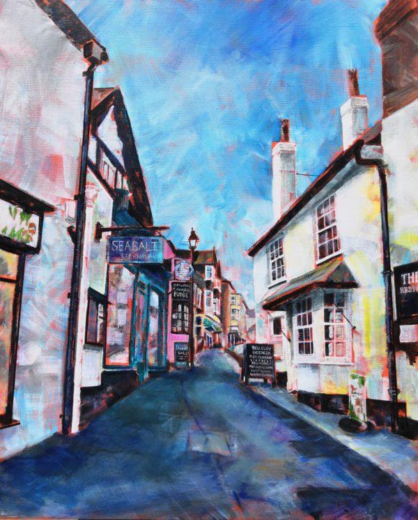 Bell Cliff Cafe, Lyme Regis