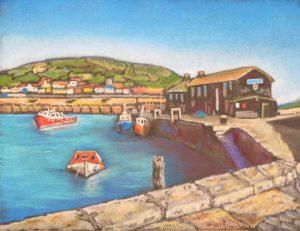Black Pastel Cobb, Lyme Regis