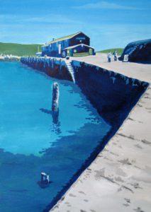 Blue Cobb, Lyme Regis