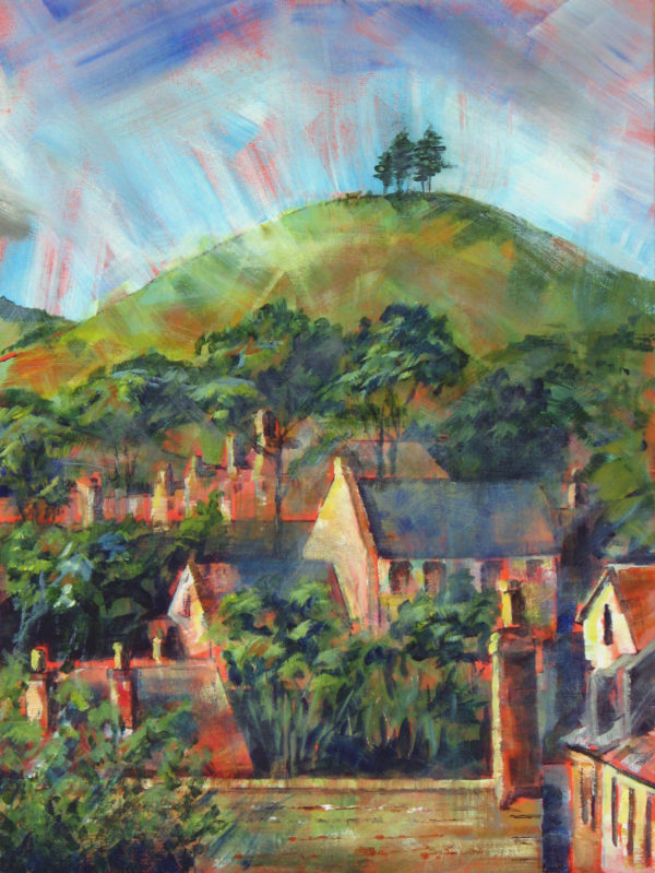 Colmer's Hill from West Street, Bridport