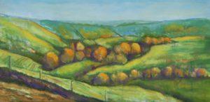 Autumn Sunshine on Eggardon Hill