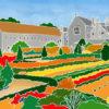 Forde Abbey Kitchen Garden in Summer