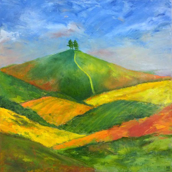 Glazed Patterns of Colmer's Hill