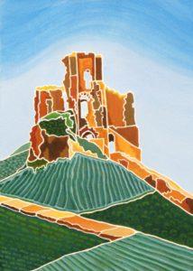 Green Patterns of Corfe Castle