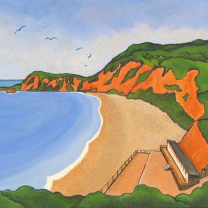 Jacob's Ladder Beach, Sidmouth