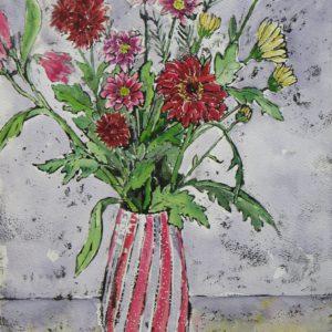 Magenta Chrysanthemums