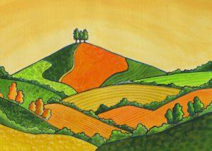 Orange Colmer's Hill