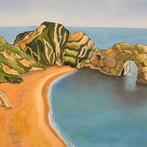 Over Durdle Door