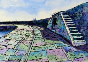 Steps on the Cobb, Lyme Regis