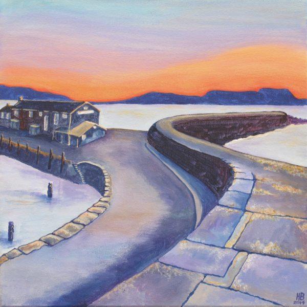 Sunrise Cobb, Lyme Regis