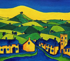 Symondsbury Village