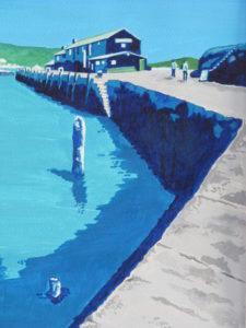 Turquoise Cobb, Lyme Regis