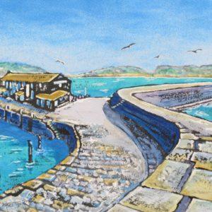 View of Blue Cobb, Lyme Regis