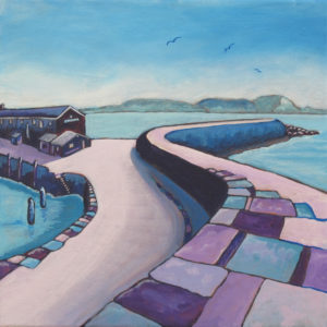 Along the Purple Cobb, Lyme Regis