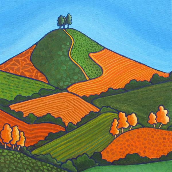 Orange Patterns of Colmer's Hill