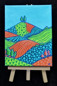 Patterned Colmer's Hill No. 3
