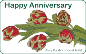Anniversary Gift Card