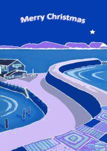 Christmas Patterns of the Cobb, Lyme Regis