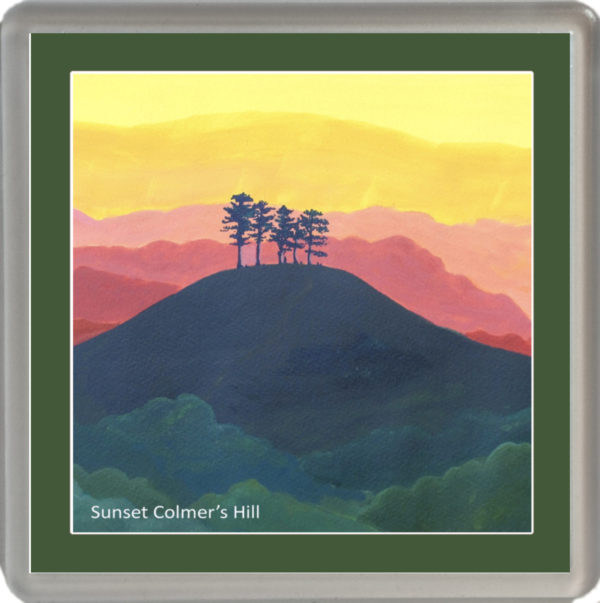 Sunset Colmer's Hill with green border