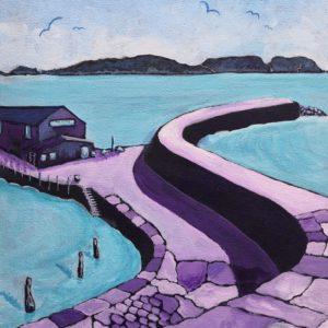 Purple Cobb II, Lyme Regis