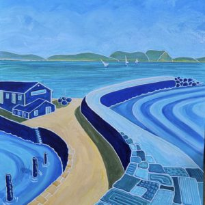 Azure Patterns of the Cobb 2, Lyme Regis