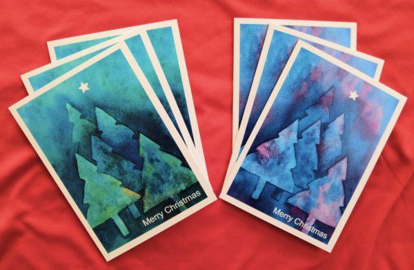 Christmas Tree Card Pack