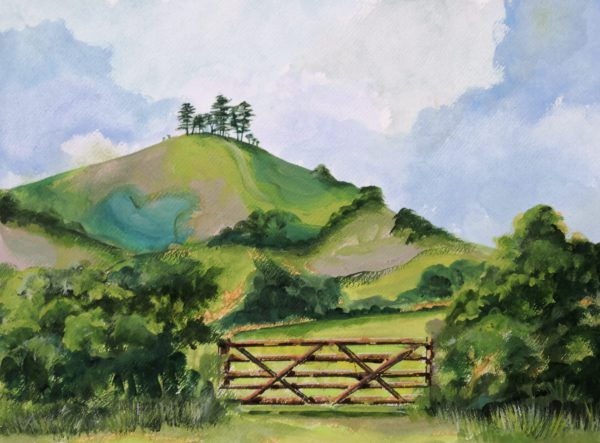 Spring Skies over Colmer's Hill