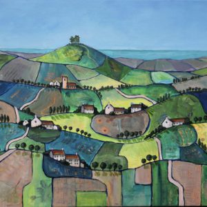 Patchwork Fields to Colmer's Hill