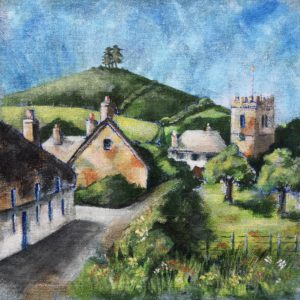Colmer's Hill from Duck Street, Symondsbury