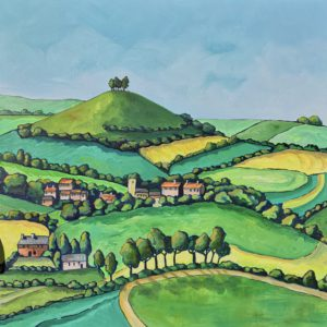 Green Fields to Colmer's Hill